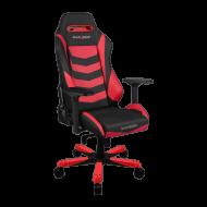 Кресло для геймеров DXRacer Iron OH/IS166/NR Black/Red