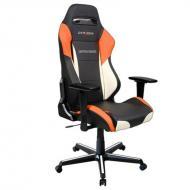 Кресло для геймеров DXRacer Drifting OH/DM61/NWO Black/White/Orange