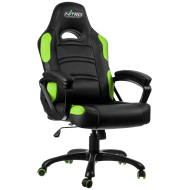 Кресло для геймеров GameMax Nitro Concepts Green (GCR07 Green)