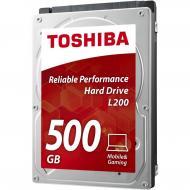 Жесткий диск 500GB Toshiba L200 (HDWJ105UZSVA)