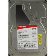 Жесткий диск 6TB Toshiba N300 NAS (HDWN160UZSVA)