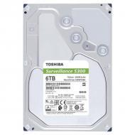 Жесткий диск 6TB Toshiba Surveillance S300 (HDWT360UZSVA)