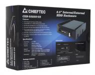 ������ ��� �������� ����� Chieftec External Box CEB-5325S-U3 Black