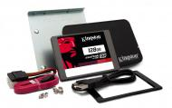 SSD накопитель 128 Гб Kingston SKC400 Bundle (SKC400S3B7A/128G)