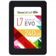 SSD накопитель 240 Гб Team L7 EVO 2.5 TLC (T253L7240GTC101)