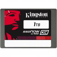 SSD накопитель 1 Тб Kingston KC400 Upgrade Bundle Kit (SKC400S3B7A/1T)