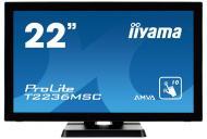 Монитор TFT 21.5  Iiyama ProLite T2236MSC-B2