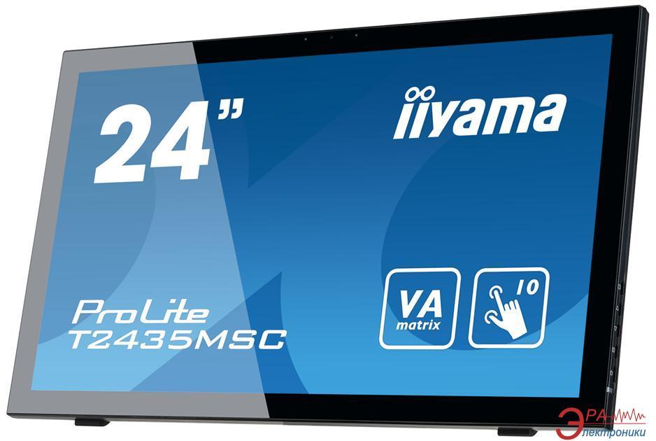 Монитор 23.6  Iiyama ProLite T2435MSC-B1