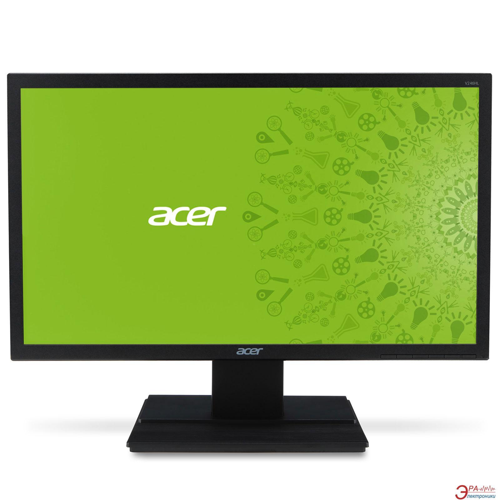 Монитор 24  Acer V246HLbid (UM.FV6EE.026)