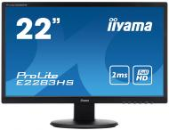 Монитор TFT 21.5  Iiyama ProLite E2283HS-B1