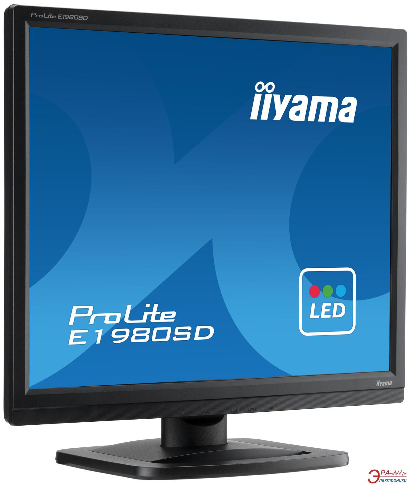 Монитор 19  Iiyama ProLite E1980SD-B1
