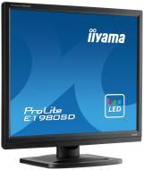 Монитор TFT 19  Iiyama ProLite E1980SD-B1