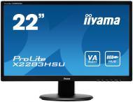 Монитор TFT 21.5  Iiyama ProLite X2283HSU-B1DP