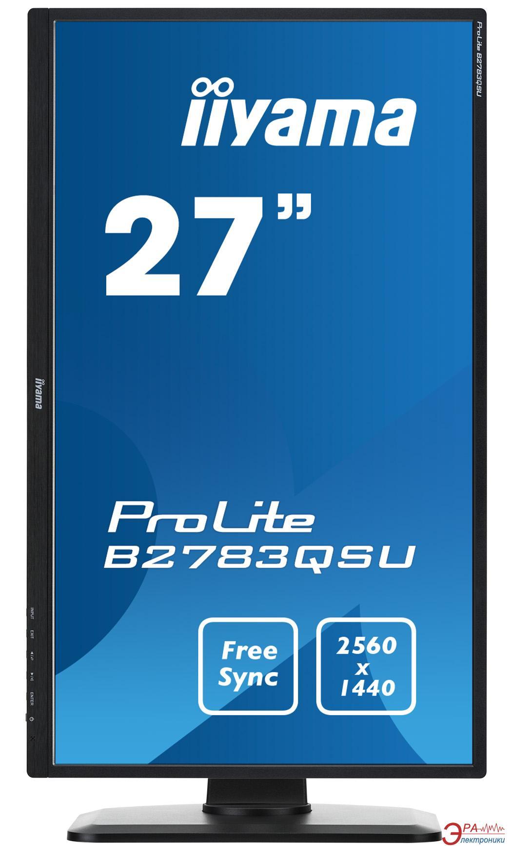 Монитор 27  Iiyama ProLite B2783QSU-B1