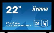 Монитор TFT 21.5  Iiyama T2235MSC-B1