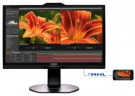 Монитор TFT 23.8  Philips 241P6VPJKEB/00 Black