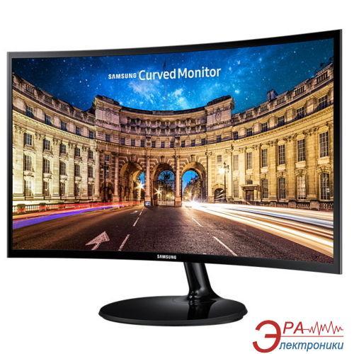 Монитор 23.5  Samsung C24F390F Black (LC24F390FHIXCI)