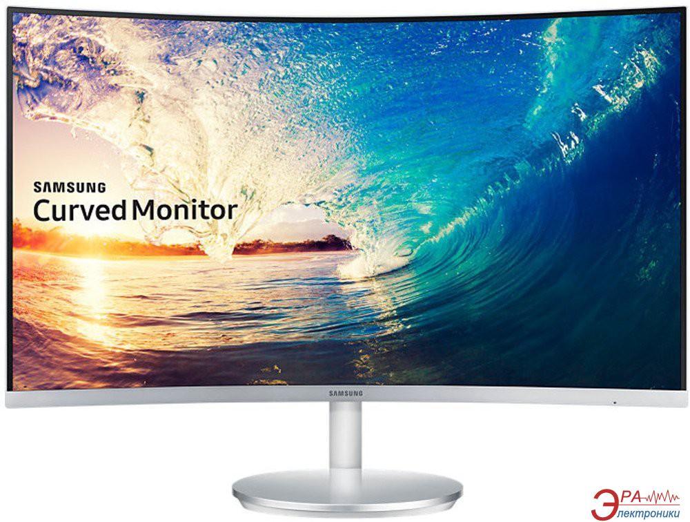 Монитор 27  Samsung C27F591F Silver (LC27F591FDIXCI)