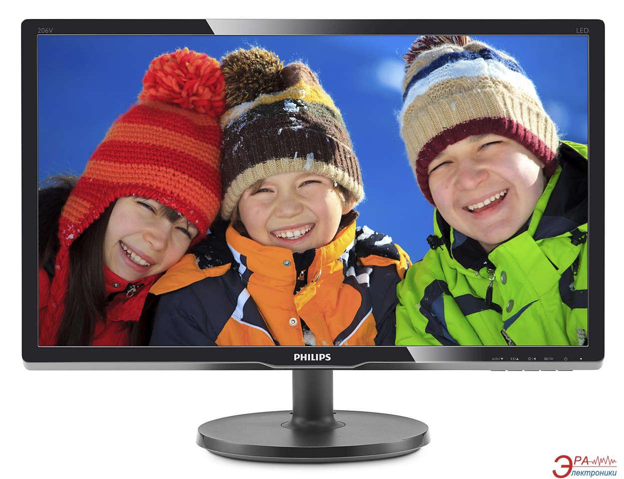 Монитор 19.5  Philips 206V6QSB6/62
