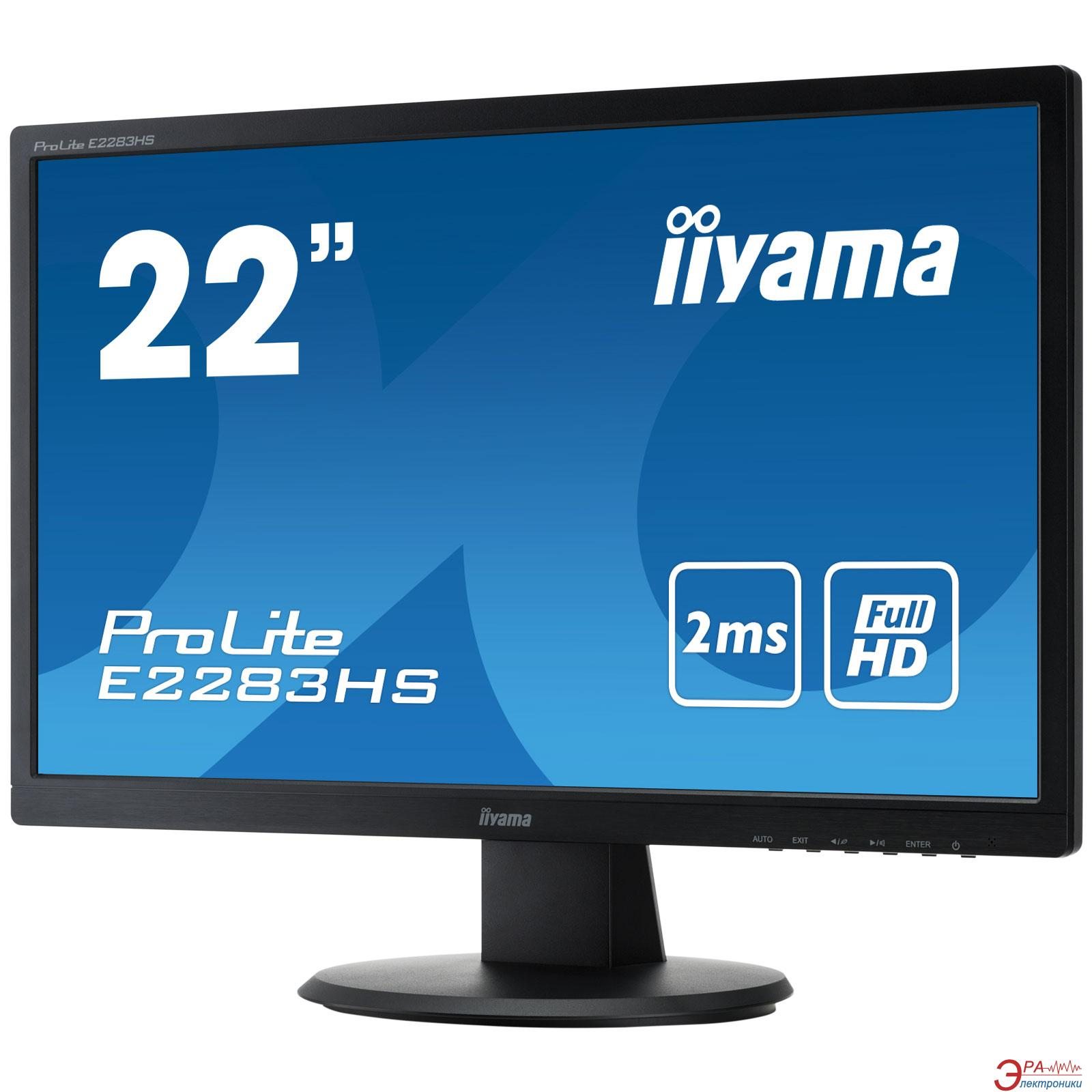 Монитор 21.5  Iiyama E2282HV-B1