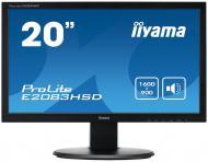 Монитор TFT 19.5  Iiyama E2083HSD-B1