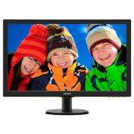 Монитор TFT 23.6  Philips 243V5QHSBA/00 Black