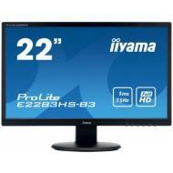 Монитор 21.5  Iiyama E2283HS-B3 (T2252MTS-B5)