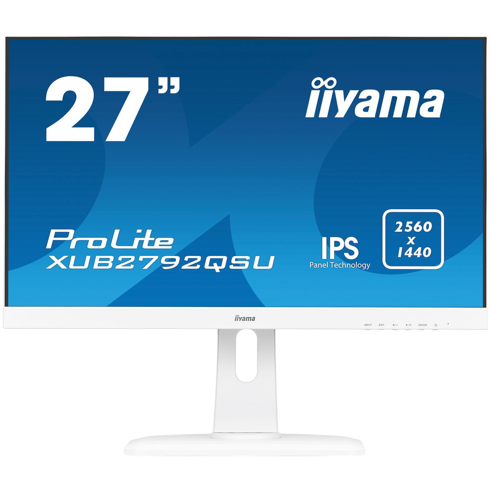 Монитор 27  Iiyama XUB2792QSU-W1