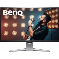 Монитор 31.5  BenQ EX3203R Metallic Grey (9H.LGWLA.TSE)