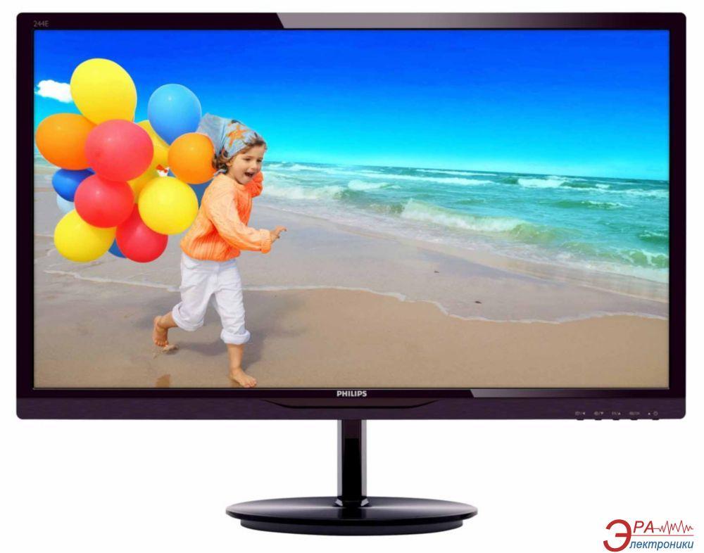 Монитор 23.8  Philips 244E5QSD (244E5QSD/01(00))