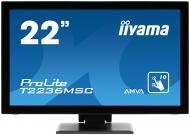 Монитор TFT 21.5  Iiyama T2236MSC-B1
