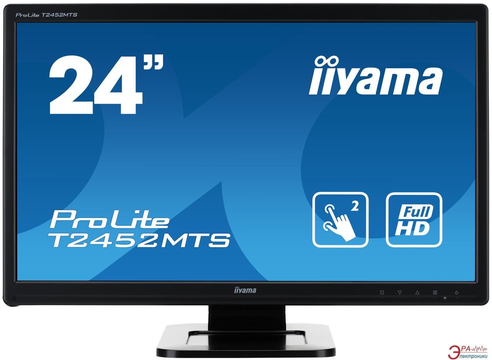 Монитор 23.6  Iiyama ProLite T2452MTS-B4