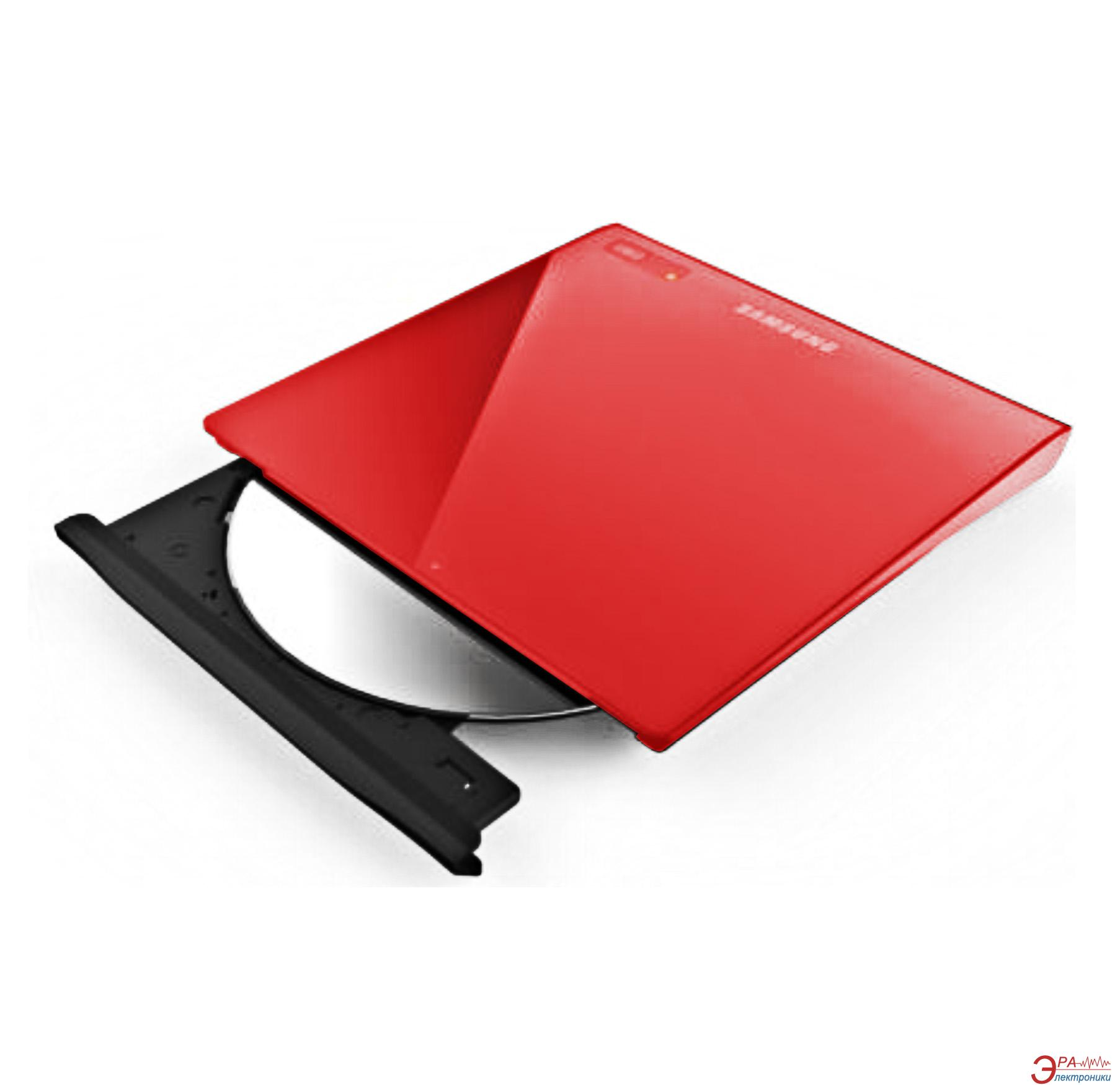 DVD±RW Samsung SE-208GB/RSRD External USB Red