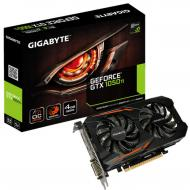 Видеокарта Gigabyte GeForce GTX1050TI 4GB DDR5 OC (GV-N105TOC-4GD)