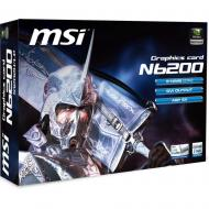 Видеокарта MSI GeForce 6200 512Mb AGP 8X (N6200-512D2H/LP)