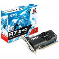 Видеокарта MSI Radeon R7 240 2GB DDR3 128bit DVI- VGA-HDMI low profile (R7 240 2GD3 LPV2)