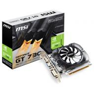 Видеокарта MSI GeForce GT 730 1GB DDR3 OC (N730K-1GD3/OCV2)
