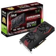 Видеокарта Asus GeForce GTX1060 6GB GDDR5 Expedition (EX-GTX1060-O6G)