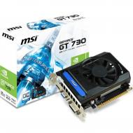 Видеокарта MSI GeForce GT730 2048Mb OC (N730K-2GD3/OCV1)