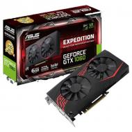 Видеокарта Asus GeForce GTX1060 6144Mb EXPEDITION (EX-GTX1060-6G)