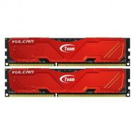 DDR3 2x8 Гб 2133 МГц Team Vulcan Red (TLRED316G2133HC10QDC01)