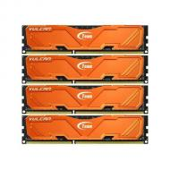 DDR3 4x8 Гб 1600 МГц Team Vulcan Orange (TLAED332G1600HC9QC01)