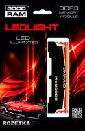 DDR3 8 �� 1866 ��� Goodram Led Gaming (GL1866D364L10/8G)