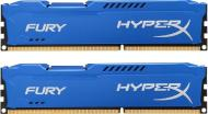 DDR3 2x8 Гб 1866 МГц Kingston HyperX Fury Blue (HX318C10FK2/16)
