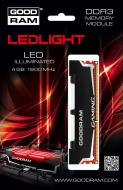 DDR3 4 Гб 1600 МГц Goodram Led Gaming (GL1600D364L9/4G)