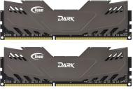 DDR3 2x4 Гб 1600 МГц Team Dark Series Grey (TDGED38G1600HC9DC01)
