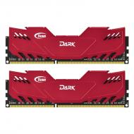 DDR3 2x4 Гб 1600 МГц Team Dark Series Red (TDRED38G1600HC9DC01)