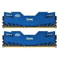 DDR3 2x4 Гб 1600 МГц Team Dark Series Blue (TDBED38G1600HC9DC01)