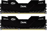 DDR3 2x8 �� 1600 ��� Team Dark Black (TDKED316G1600HC9DC01)