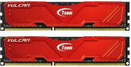 DDR3 2x8 �� 1866 ��� Team Vulcan Red (TLRED316G1866HC10SDC01)